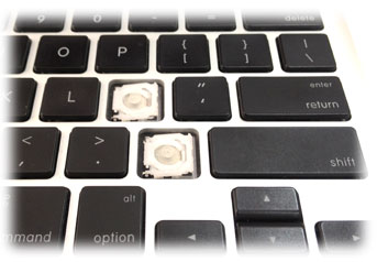 Что делать если оторвалась клавиша 27